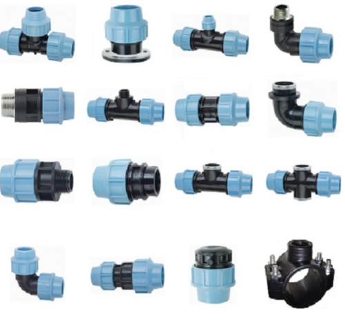 hdpe compression fitting